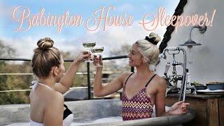 SLEEPOVER AT BABINGTON HOUSE! 💕  Fashion Mumblr Vlog