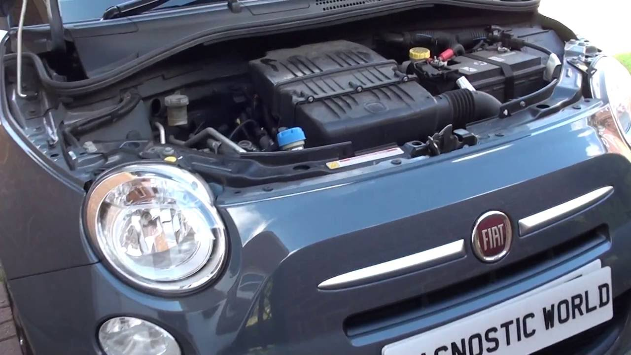 fiat 500 interior fuse box location