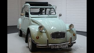 Citroën 2CV6 1981 Completely restored -VIDEO- www.ERclassics.com