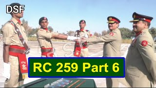 Pak Army Core DSF Passing Out Prade RC 259 Part 6 In D.I Khan    DSF Official