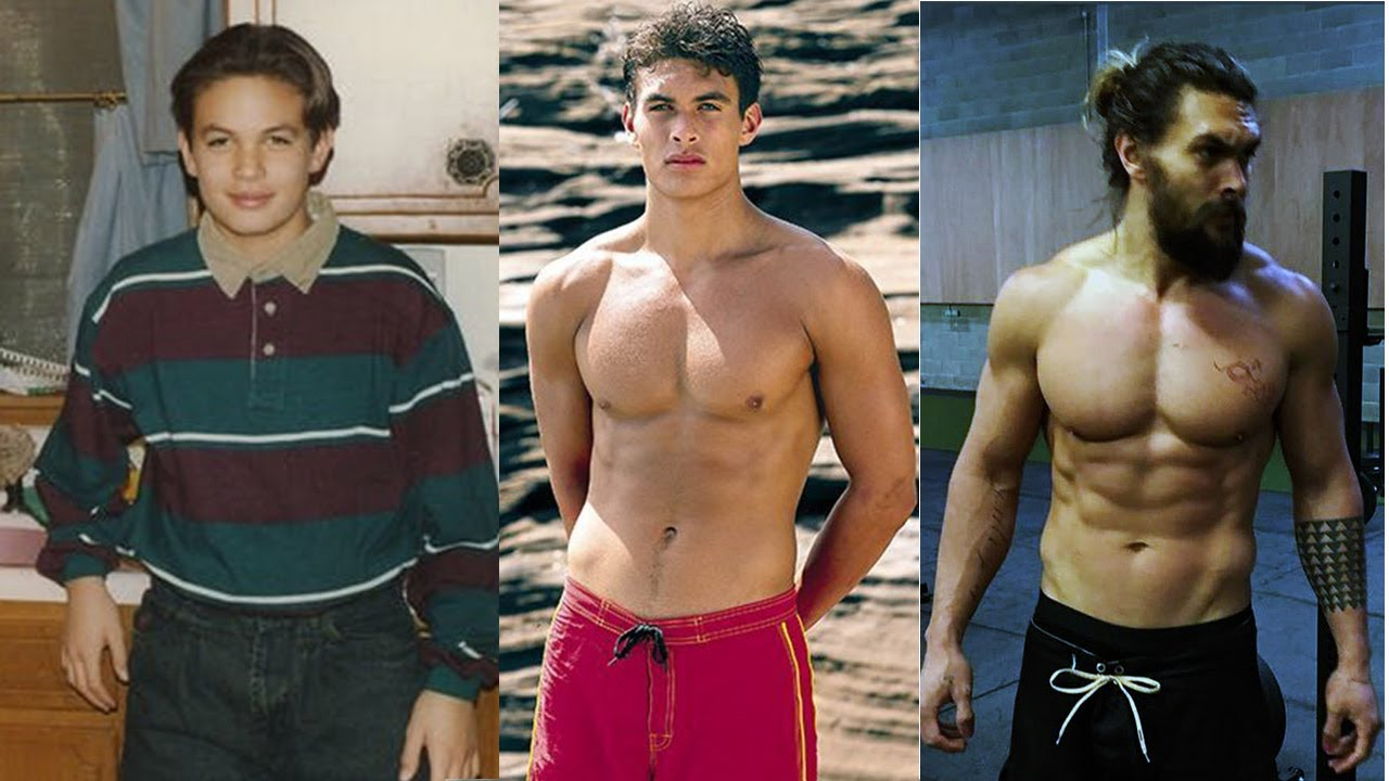 Jason Momoa From 13 To 38 Years Old Wild Wolf