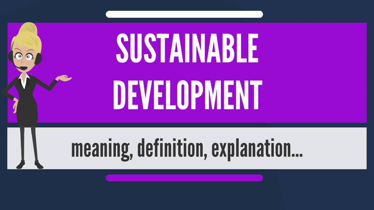 what is sustainable development? what does sustainable development