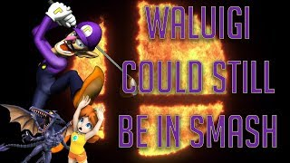 Waluigi can still be in smash