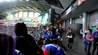 J1昇格に向けて気合い十分な札幌サポの応援の札幌ドーム。これにて20...