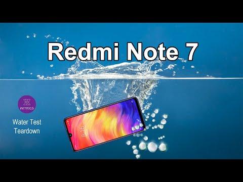 Xiaomi Redmi Note 7 Waterproof Test