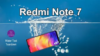 Xiaomi Redmi Note 7 Waterproof Test