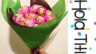 Cómo hacer un ramo de chocolates - Hola Titi DIY