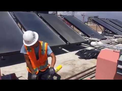 From the Roof: Solar Hot Water Installation at Interfaith Housing