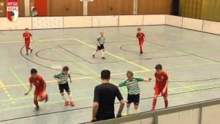 U11 FC Augsburg - SpVgg Greuther Fürth 2:0 SUPERCUP Aktion Fussballtag 16./17.01.2016
