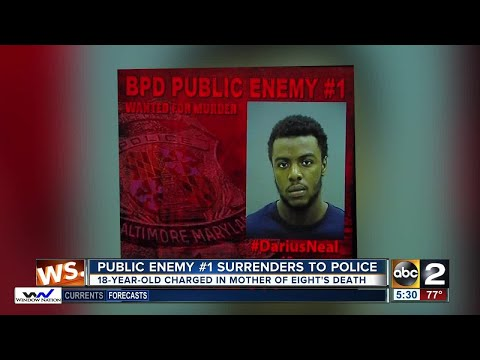 Baltimore Police capture Public Enemy No 1. man who shot and killed mother of eight