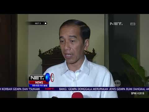 Jokowi Himbau Semua Jajaran Pemerintah Untuk Membantu Korban Gempa Donggala & Tsunami Palu-NET5