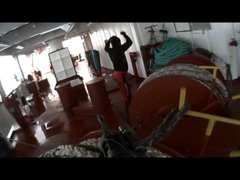 Beelden boardingteam Hr. Ms. Tromp  van bevrijdingsactie koopvaardijschip Taipan