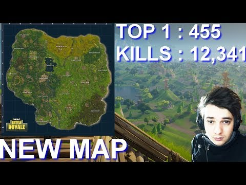 [FR/PC/LIVE] Fortnite en solo 452 wins! New map