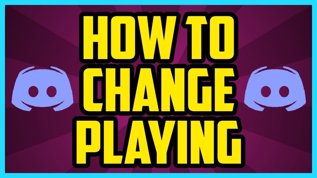 How To Change What You Are Playing On Discord WORKING Custom - Minecraft player name andern