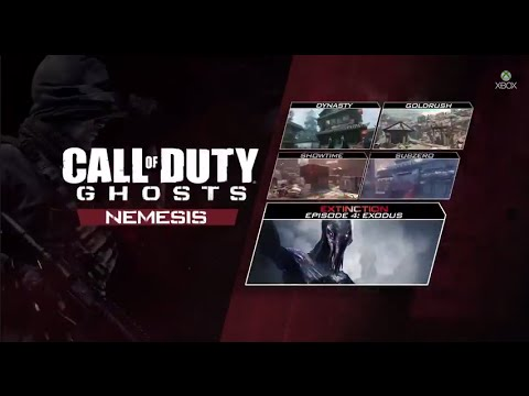 cod ghosts dlc codes