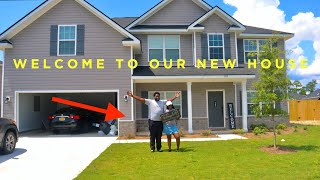 WELCOME TO OUR NEW HOUSE 🏚 !!! #new house tour #house tour