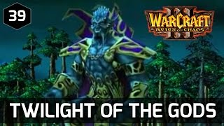 Warcraft 3 Story ► Twilight of the Gods - Orcs, Humans and Elves Defeat Archimonde