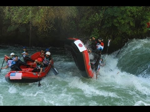 2013 Worlds Rafting New Zealand - H2H Open and Masters