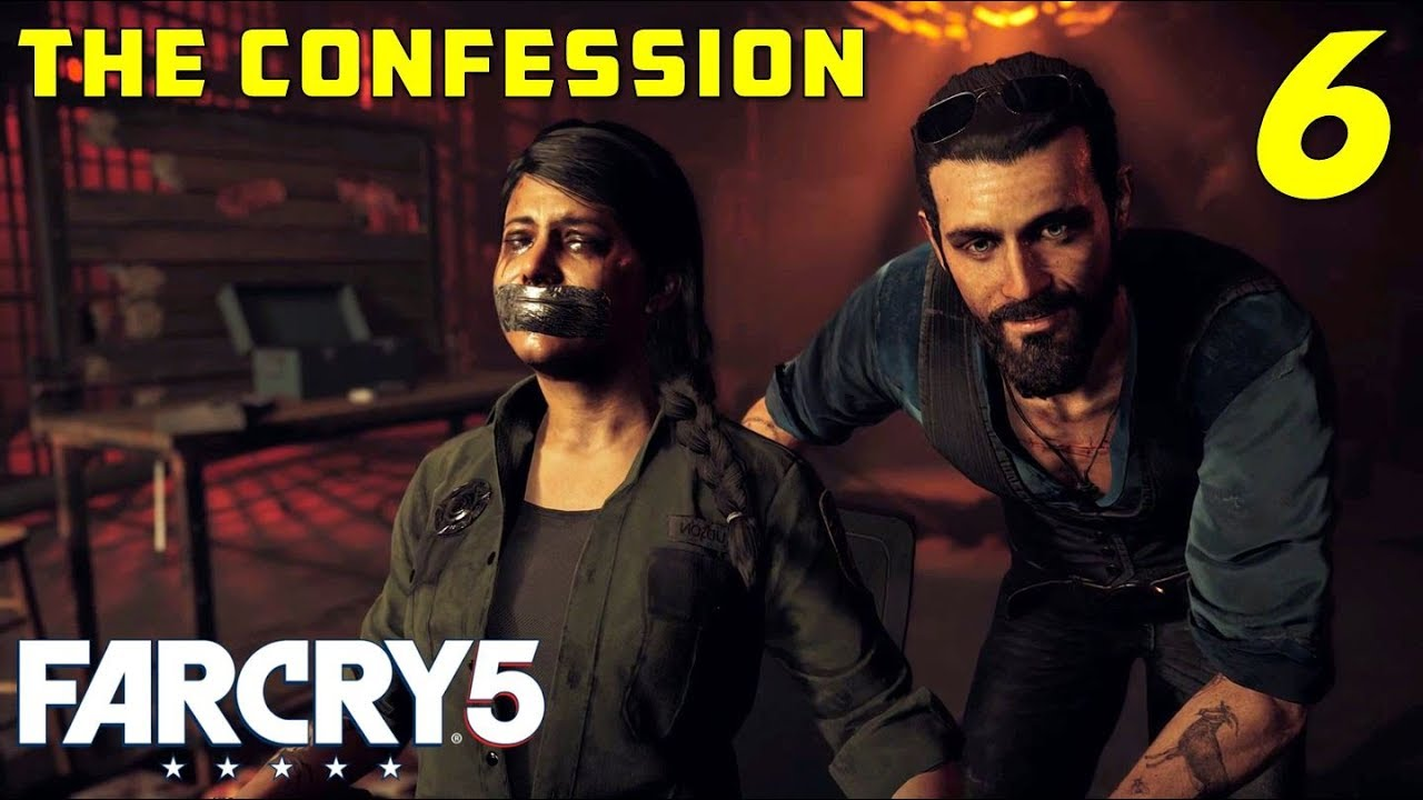 The Confession Find Deputy Hudson Escape The Bunker Far Cry 5 Gameplay Part 6 Youtube
