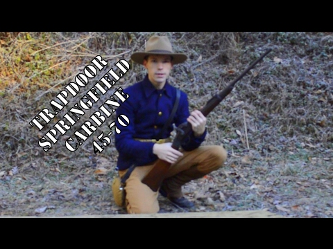 Trapdoor Springfield Carbine Rare Star Serial Number Review 45-70.