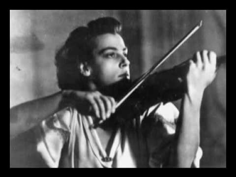 Ginette Neveu plays Gluck - Mélodie (from Orfeo ed Euridice)