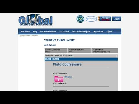 School Student Enrollment