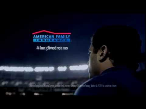Russell Wilson Featured In AmFam Super Bowl Ad
