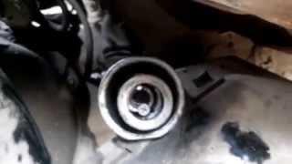 Замена втулки на Toyota bb2