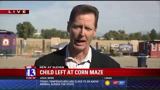 3 Year Old Accidentally Left At Corn Maze