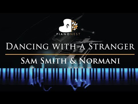 Sam Smith & Normani - Dancing with a Stranger - Piano Karaoke  Sing Along Cover with