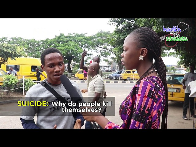Suicide Issues: Why Do People Kill Themselves? - #HealthOnTheStreets