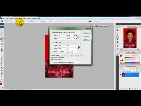 Cara Mengecilkan Ukuran Foto Dengan Photoshop Cs3 Youtube
