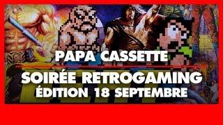 Soirée retrogaming Papa Cassette du 18 septembre 2013 - Édition Beat 'em Up