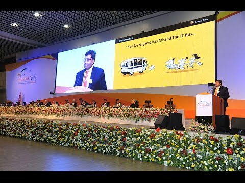 Gateway TechnoLabs (GTL) @ Vibrant Gujarat 2017 MSME Summit