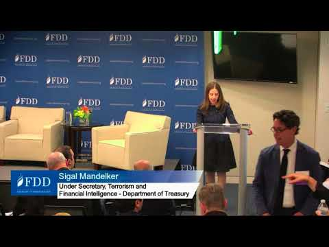 US Treasury Under Secretary speaks at FDD on Iran's Deceptive Financial Practices