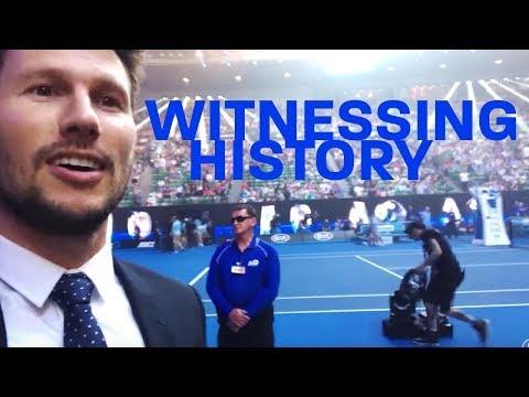 JASON DUNDAS IS WITNESSING HISTORY  making it