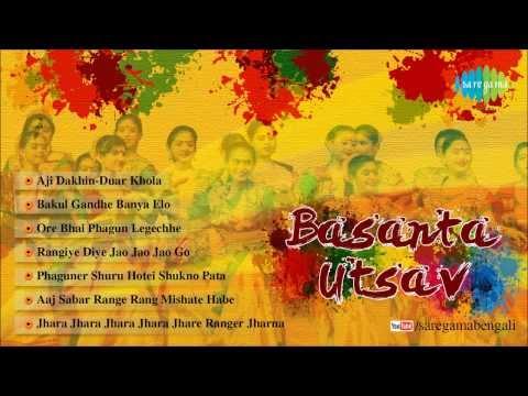 Basant Utsav Special Bengali Songs | Jukebox | Rangiye Diye Jao | Holi Special