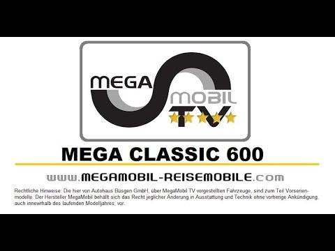 "MegaMobil Mega Classic ""Der 5-Sterne Premium Kastenwagen"""