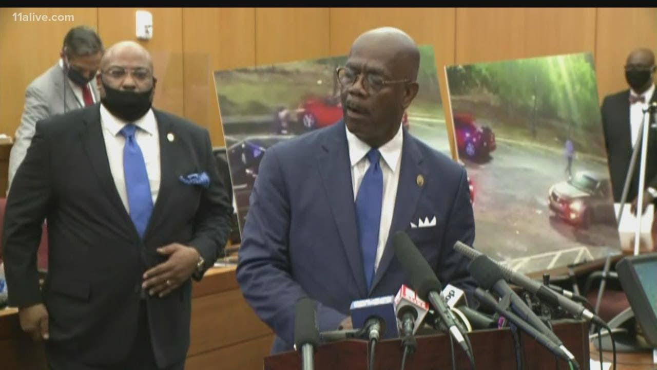 DA: Rayshard Brooks running away when he was shot