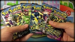 Opening EARLY Pokemon Ancient Origins Packs | ポケモン XY7 English Cards