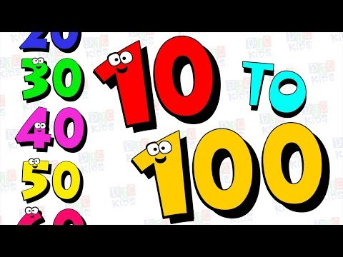 Counting Numbers 10 to 100