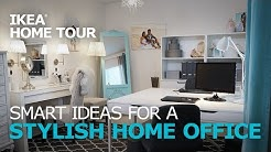 Home Office Ideas - IKEA Home Tour