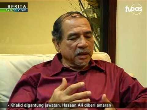 Khalid digantung jawatan, Hassan Ali diberi amaran