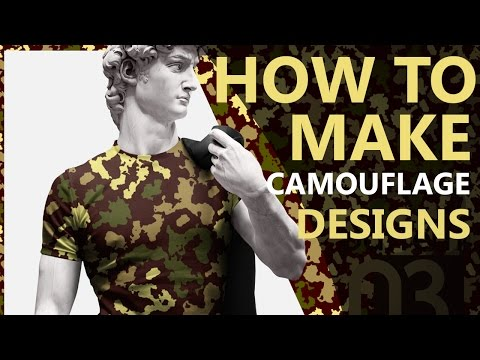 How To Make Camouflage In Photoshop and Illustrator