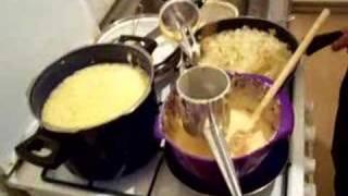 Making Schwabian Spaetzle