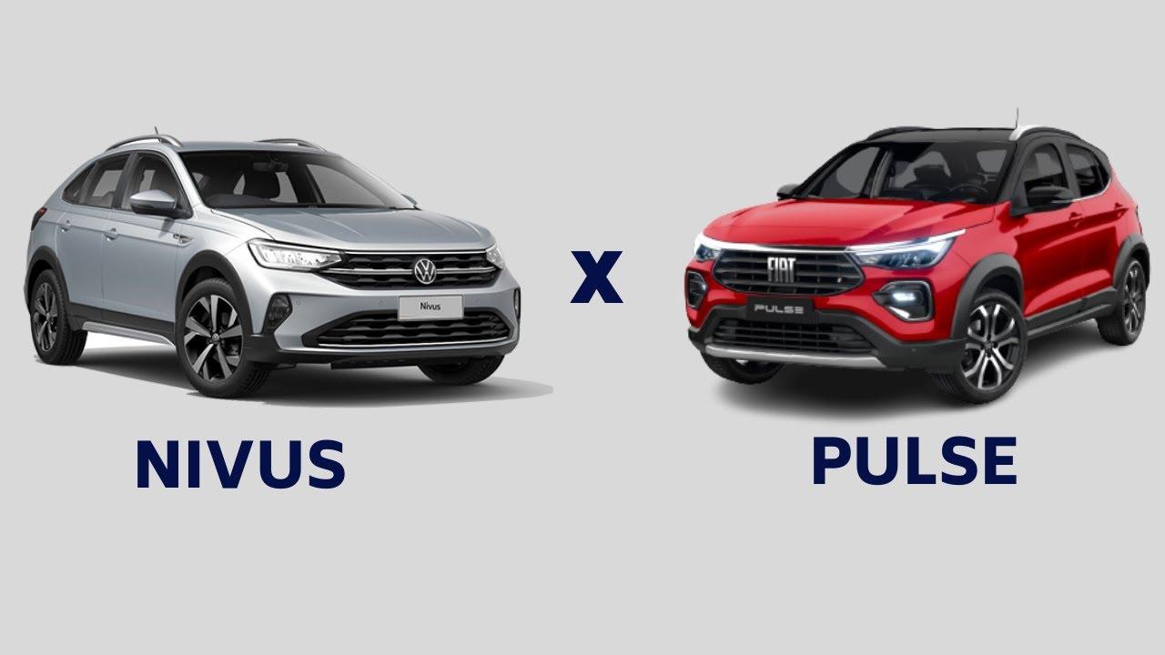 VW NIVUS OU FIAT PULSE - QUAL ESCOLHER?