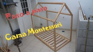 Como hacer una cama Montessori