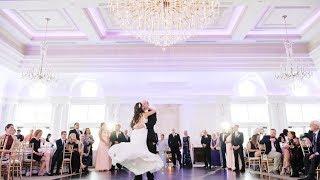 Romantic Park Chateau Wedding First Dance // Julia + Scott