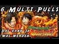 Luffy X Ace Sugo Fest!! 6 Multi Pulls! [One Piece Treasure Cruise]