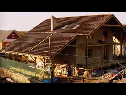 Строим мансардную крышу шале, под ЦПЧ, своими руками.